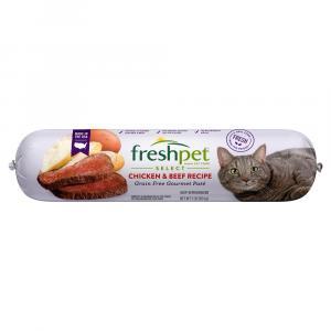 Freshpet Select Cat Chicken Beef Dinner