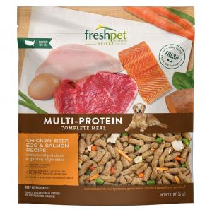 Freshpet Select Dog Multi-Protein Chicken Beef Egg & Salmon