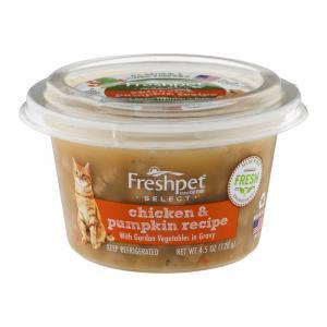 Freshpet Cat Food Chicken Pumpkin