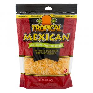 Tropical Mexican Shredded Cheese Blend