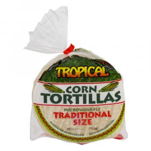 Tropical Corn Tortillas
