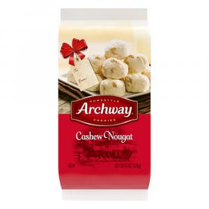 Archway Cashew Nougat Cookies
