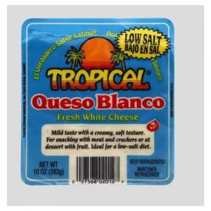 Tropical Cheese Low Salt Queso Blanco