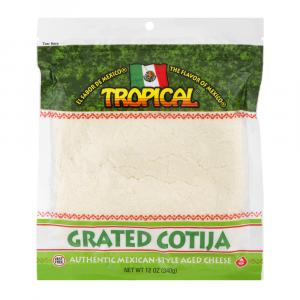 Tropical Grated Cotija Cheese