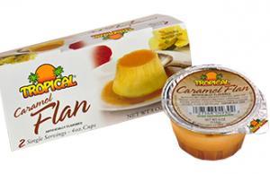 Tropical Flan De Coco