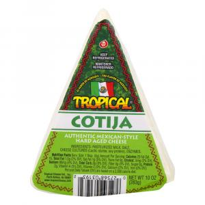 Tropical Cotija Cheese Wedge