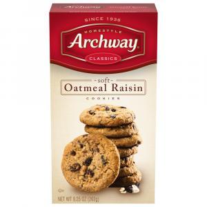 Archway Oatmeal Raisin Cookies