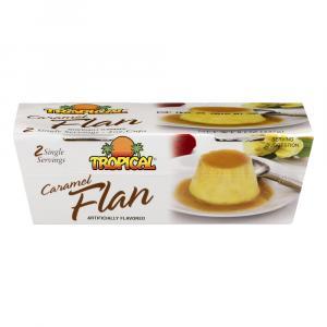 Tropical Caramel Flan