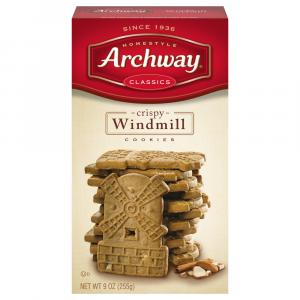 Archway Windmill Cookies