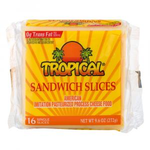 Tropical American Cheese Slices