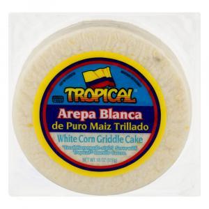 Tropical Arepa Blanca