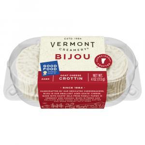 Vermont Creamery Bijou Goat Cheese Crottin