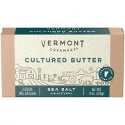 Vermont Creamery Cultured Butter with Sea Salt