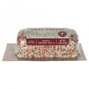 Vermont Creamery Smoked Pepper Jelly Goat Log