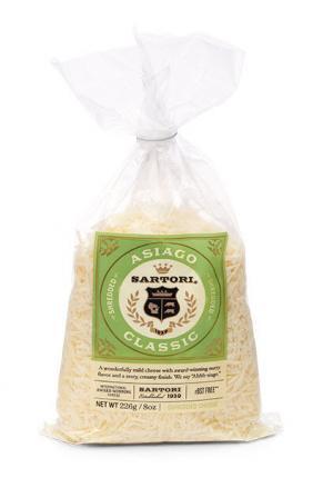 Sartori Rosemary & Olive Oil Asiago Shredded Cheese