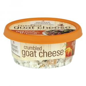 Vermont Creamery Apricot & Thyme Crumbled Goat Cheese