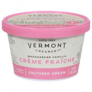 Vermont Creamery Creme Fraiche Madagascar Vanilla