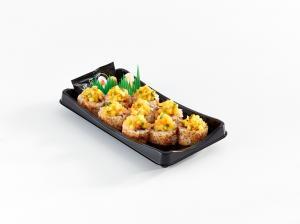 Spicy Salmon Mango Roll