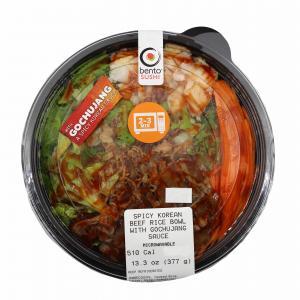 Spicy Korean Beef & Rice Bowl