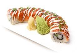 Maple Salmon Roll