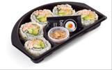 Bento Express Shrimp California Crunch Roll