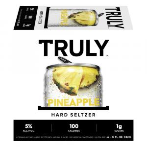 Truly Hard Seltzer Pineapple