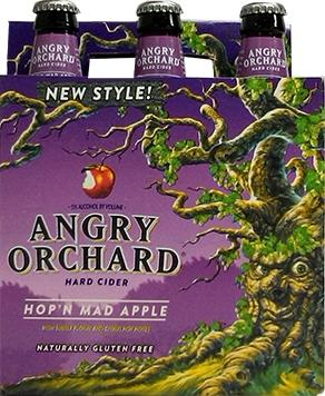 Angry Orchard Hop 'n Mad Cider