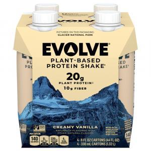 Evolve Plant-Based Protein Shake Vanilla Bean