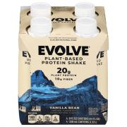 Evolve Plant-Based Protein Shake Ideal Vanilla