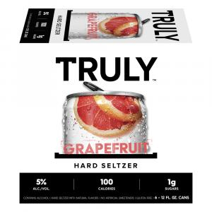 Truly Spiked Sparkling Grapefruit Pomelo