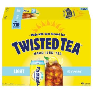 Twisted Tea Hard Iced Tea Light