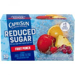 Capri Sun Reduced Sugar Fruit Punch