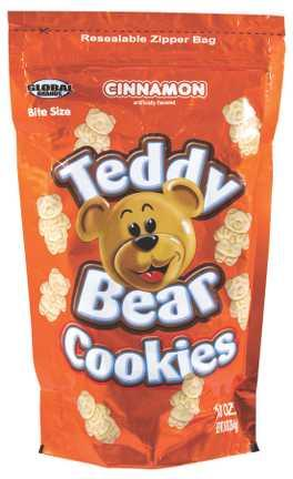Global Brands Cinnamon Teddy Bear Cookies
