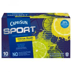 Capri Sun Sport Lemon Lime Juice Drink