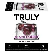 Truly Spiked & Sparkling Black Cherry