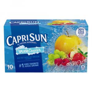 Capri Sun Splash Cooler Juice Drink