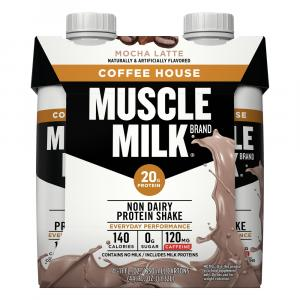 Muscle Milk Ready To Drink Mocha Latte Protein Shake