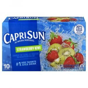 Capri Sun Strawberry Kiwi Juice Drink