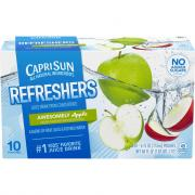 Capri Sun Fruit Refresher Awesome Apple