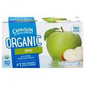 Capri Sun Organic Apple Juice Drink
