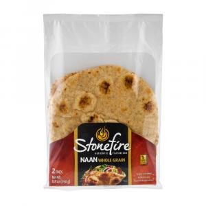 Stonefire Indian Naan Whole Grain Bread
