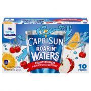 Capri Sun Roarin' Waters Fruit Punch Water Drink