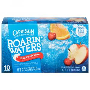 Capri Sun Roarin' Waters Fruit Punch Water Drink