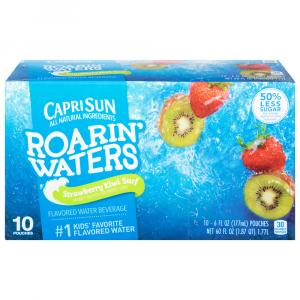 Capri Sun Roarin' Waters Strawberry Kiwi Water Drink