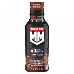 Muscle Milk Protein 40 grams Knockout Chocolate