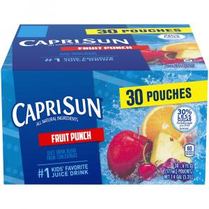 Capri Sun Fruit Punch Juice Drink Blend