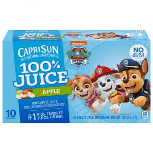 Capri Sun 100% Apple Juice