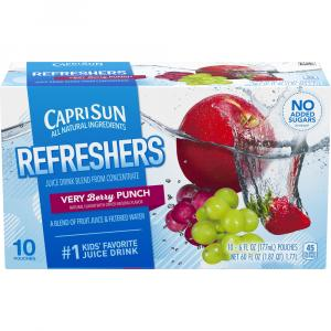 Capri Sun Fruit Refresher Very Berry Punch