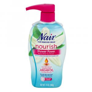 Nair Shower Power Max with Moroccan Argan Oil