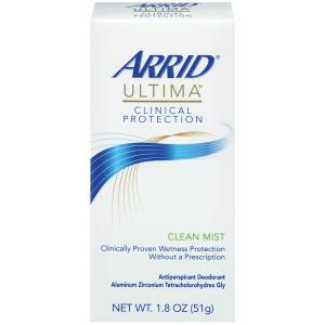 Arrid Ultima Clinical Protection Clean Mist Deodorant